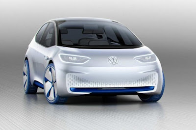 Volkswagen ID, New Electric Car, 600 KM