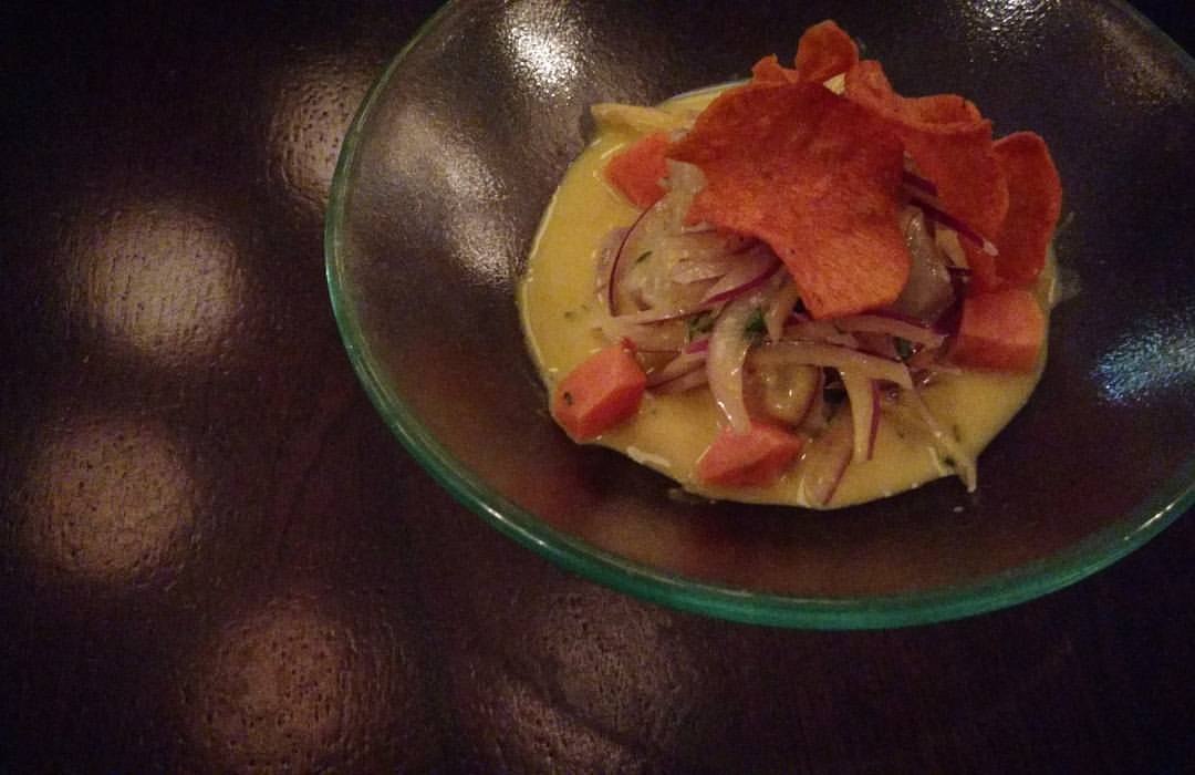 Ceviche at CEVICHE; Travels in Tonga, Time & Space (pt 1)