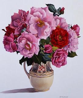 arreglos-florales-pintura acuarela-disenos-florales