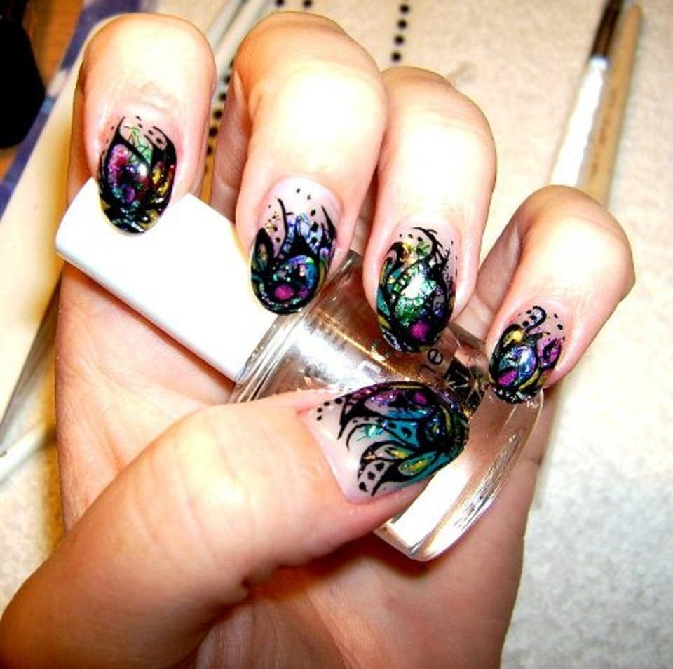 Nail Art Videos Download Free: Dynamic Views: Beautiful Nail Art Designs Ideas Wallpapers