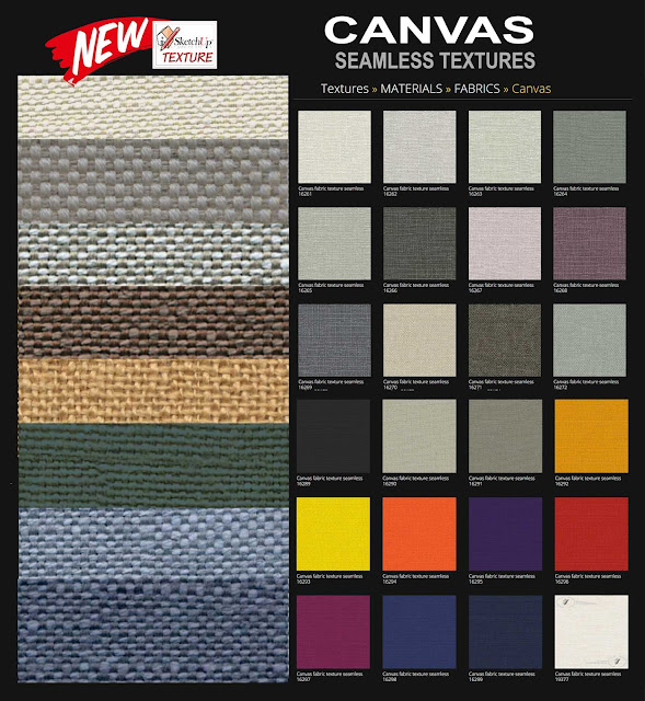 Canvas fabrics textures tiled Medium and High Resolution