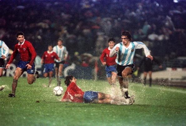 Chile y Argentina en Copa América 1991, 19 de julio