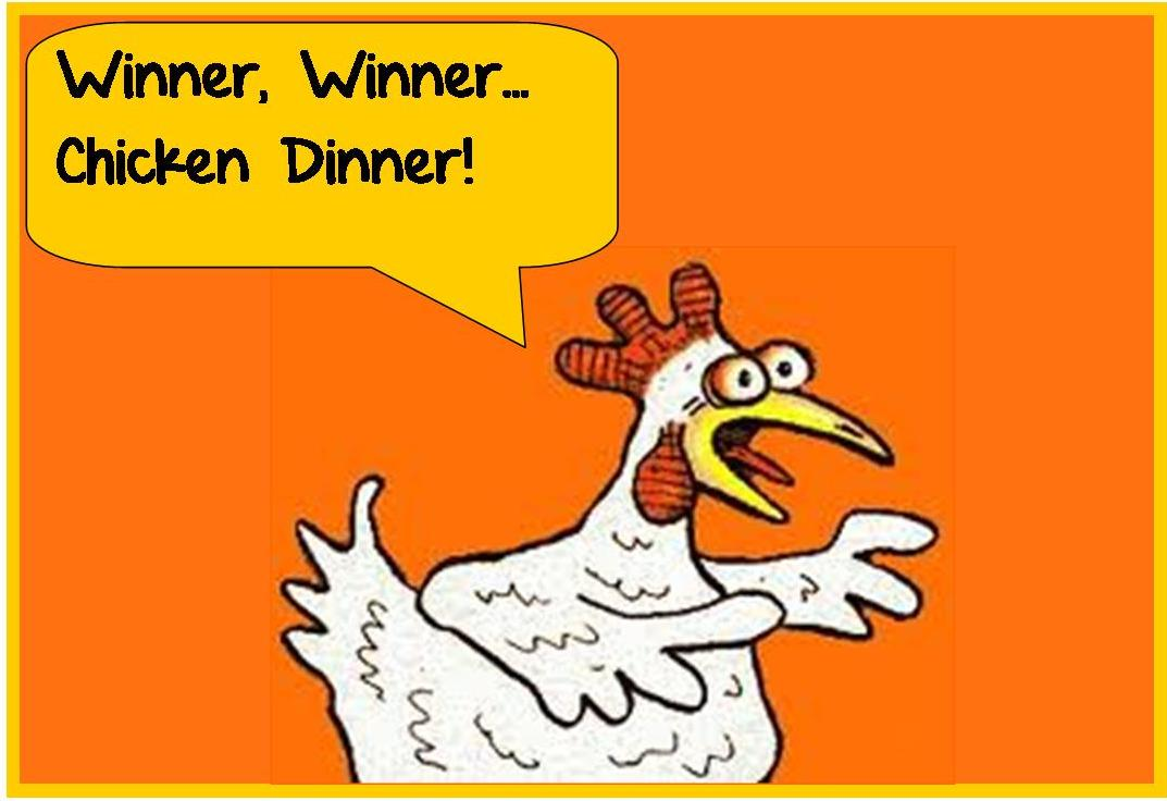 Winner Winner Chicken Dinner Clipart