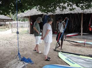 windsurfing course sri lanka kalpitiya