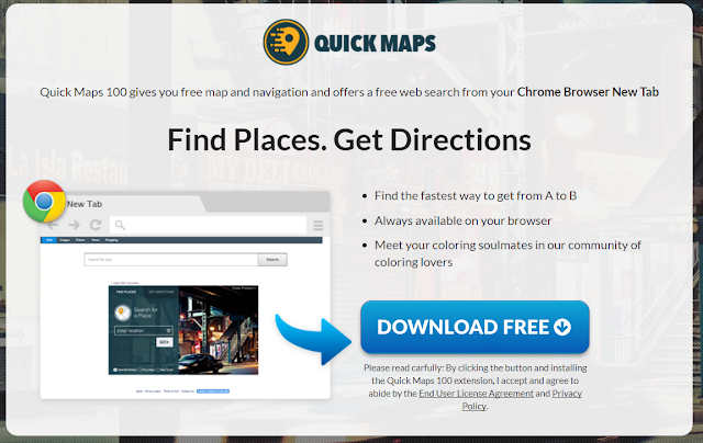 Quick Maps 100 (New Tab)