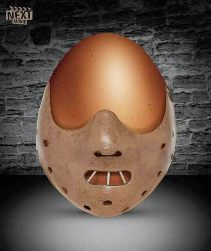 Publicidad Creativa, Pascua, Next Movie, El Silencio de los Corderos, The Silence of the Lambs