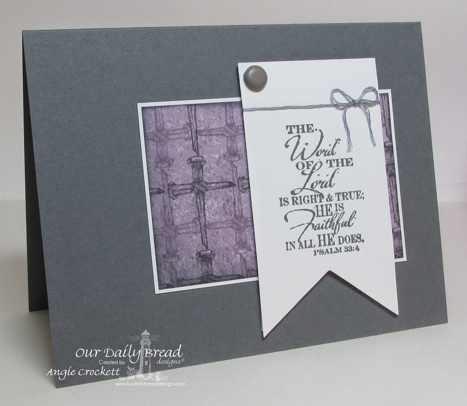 ODBD The Word of God, ODBD Christian Faith Designer Paper Collection, Card Designer Angie Crockett
