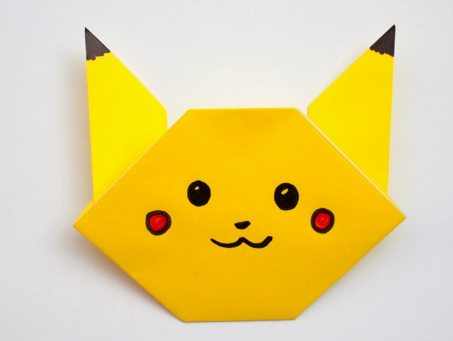 Origami Pokemon Category - Page 1 - Paper Kawaii | 481x640