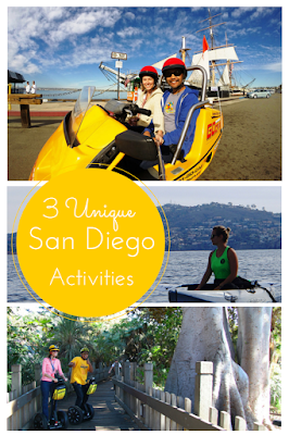 Travel the World: Three unique outdoor activities to enjoy in San Diego California.