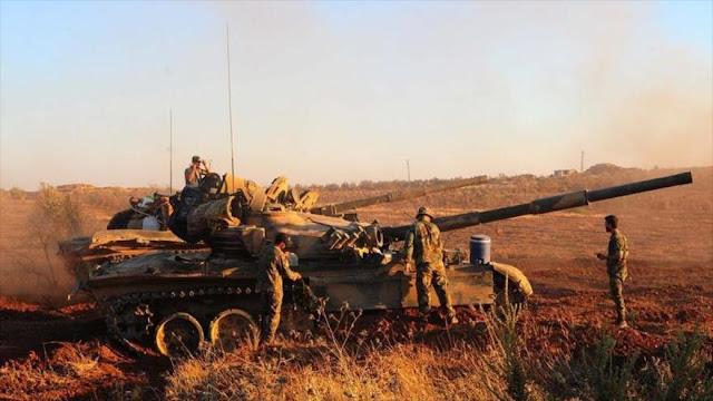 Ejército sirio arrebata a Daesh varias zonas en suroeste de Siria