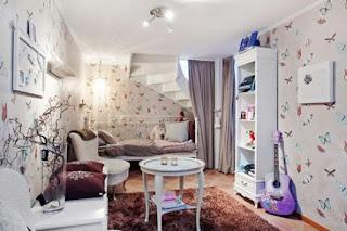 divertido dormitorio para niña