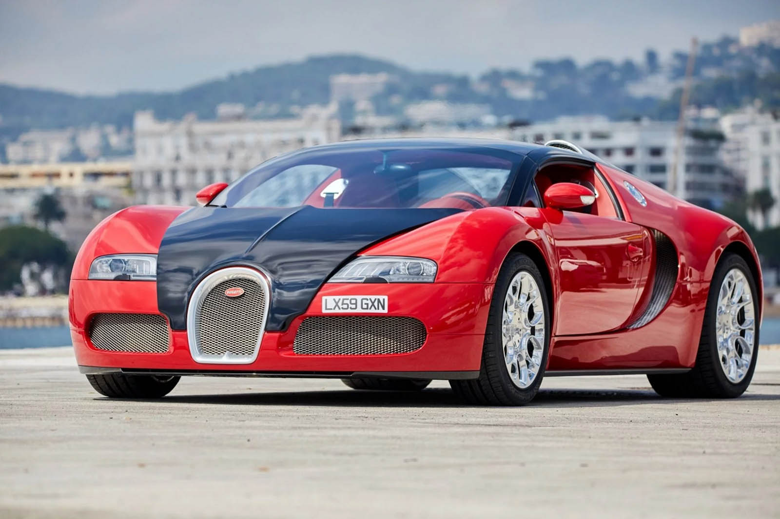 Deep Down, This Red Bugatti Veyron Grand Sport Is Actually