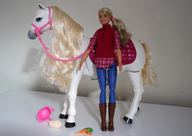 picked up 100% quality cheap prices Barbie DreamHorse Doll and Horse | Review | Emily and Indiana