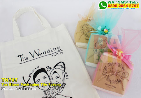 Tas Blacu Packaging Tile Potong