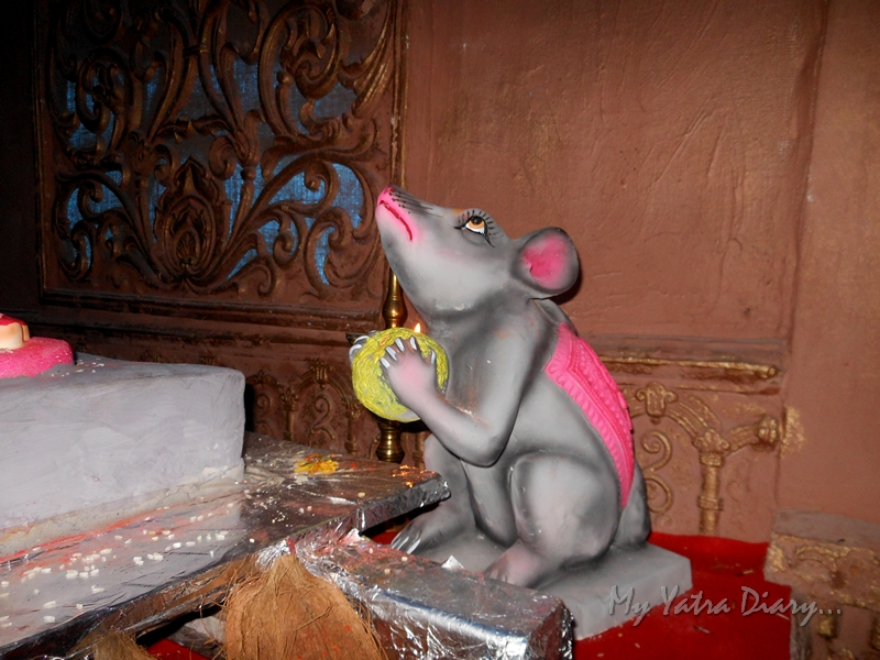 Mouse of Lord Ganesha, Ganesh Pandal Hopping, Mumbai