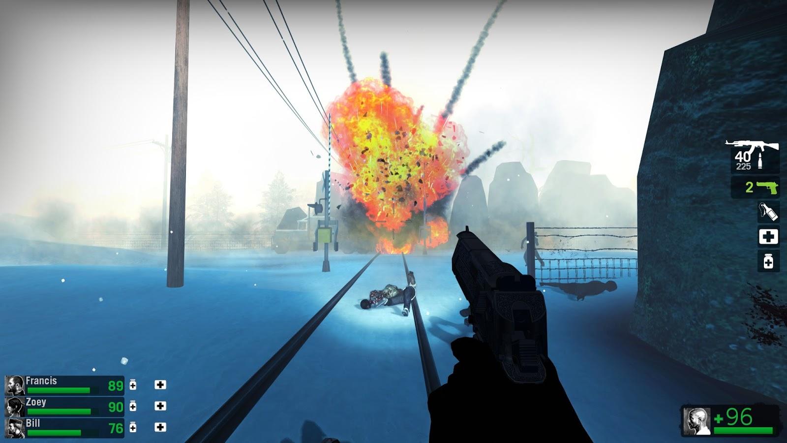 Left 4 Dead 2 Custom Campaign Reviews: Absolute Zero Epilogue 2 0
