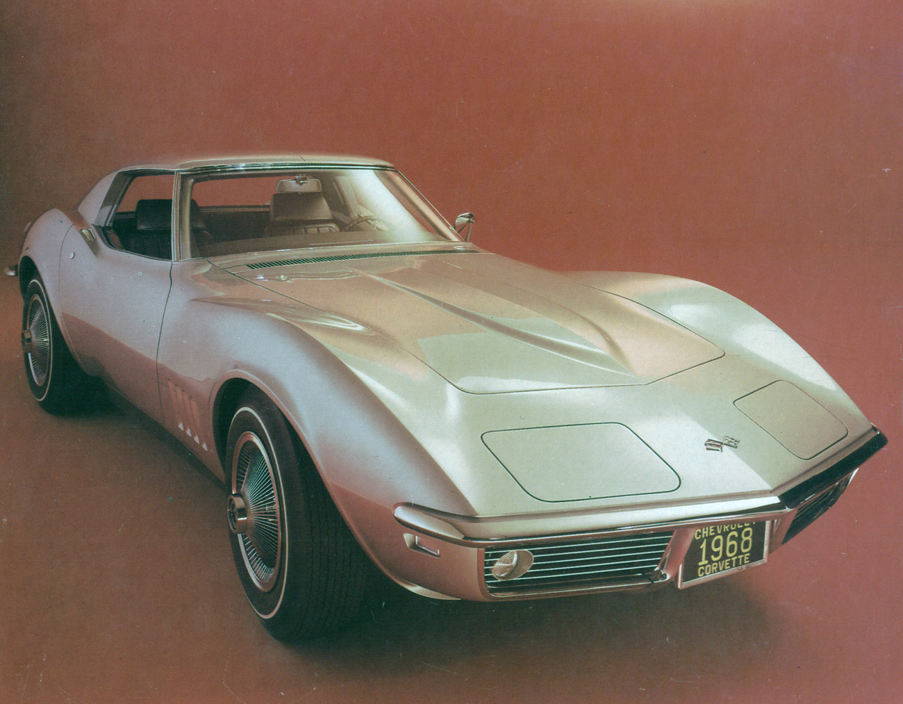 Lost Star Cars The Jimi Hendrix Corvettes Slight Reprise 1960 Pontiac Catalina Wiring Diagrams His Second Corvette Was Metallic Silver In Color And Spent Time Shokan New York City 1969 1970 Car Last Seen Public At Harlem Music