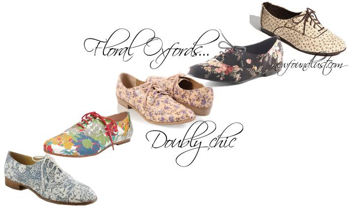 Women Liberty Floral Print Shoes