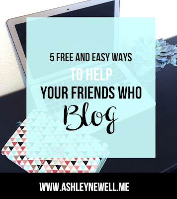 How To Help Your Friends Who Blog 5 FREE and Easy Ways