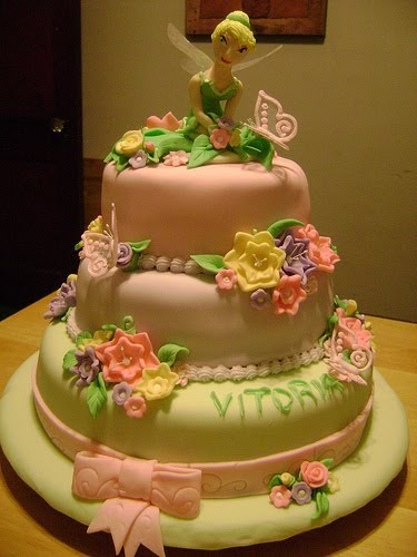 Tinkerbell Disney Wedding Cakes Ideas Wedding Ido