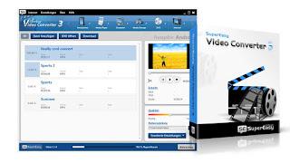 تنزيل برنامج تحويل الفيديو الى جميع الصيغ SuperEasy Video Converter