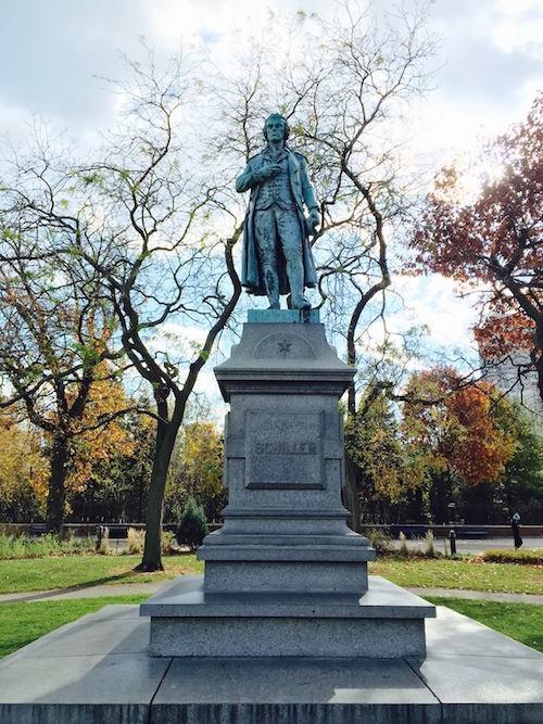 Schiller Denkmal Chicago