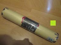 """Verpackung: Yogamatte """"Ravana"""" Die ideale Yoga- und Gymnastikmatte für Yoga-Einsteiger. Maße: 183 x 61 x 0,4cm / Tribal Center"""