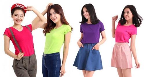 Chuyên sản xuất áo thun, in thuê logo uy tín giá rẻ