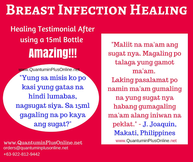 Quantumin Plus Breast Infection Healing