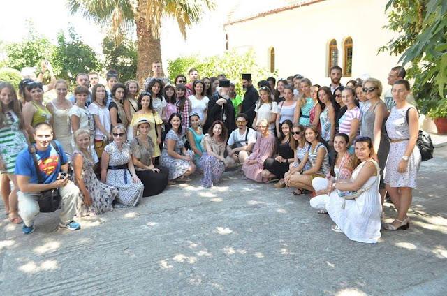 Έλληνες νεολαίοι της πρώην ΕΣΣΔ επισκέφτηκαν την πατρίδα του Καζαντζάκη