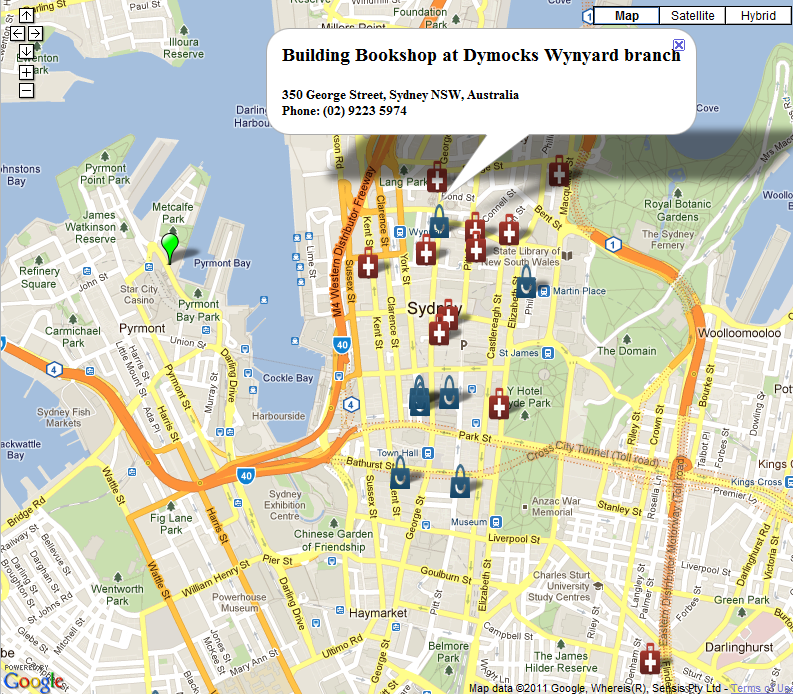 Using Google Maps Places API and ColdFusion's CFMAP to