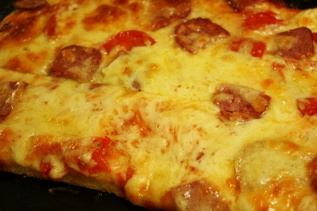 Yeast Free Pepperoni Pizza Recipe