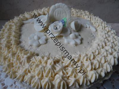 Tort komunijny maślany