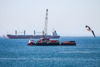 Navio estudo técnico  ambiental da Lei Federal 9.966/00