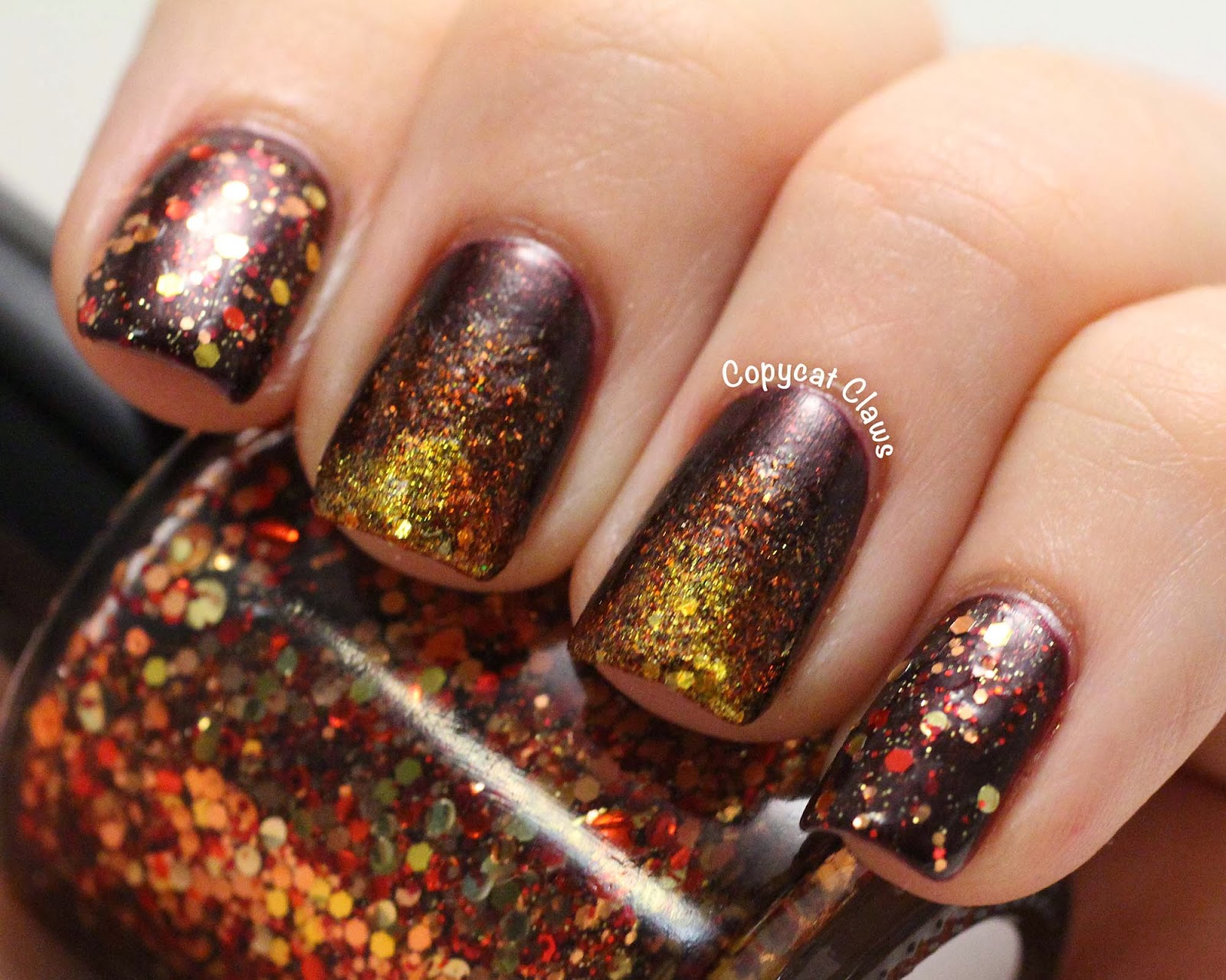 Copycat Claws: Thanksgiving Nails (Stamper Decals)