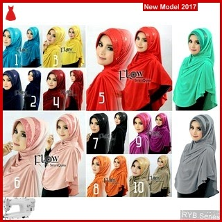 RYB076B Hijab Jilbab Cantik Syria Murah Sequina BMG Online Shop