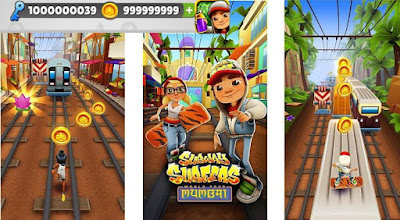 Subway Surfers Unlimited Coin key
