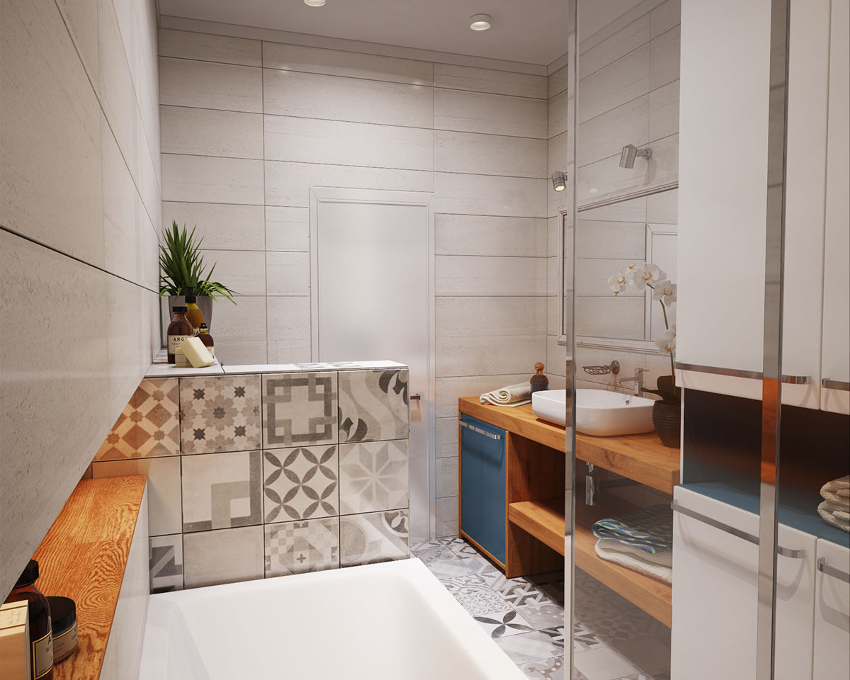 small apartment bathroom design ideas