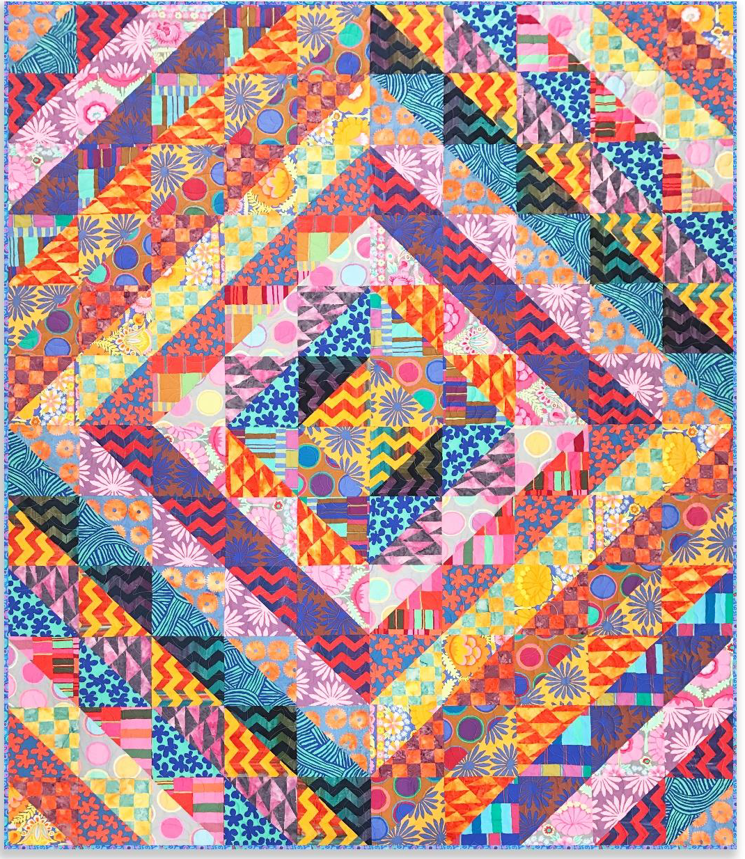 Free pattern day! Kaffe Fassett Quilting and Sewing | Quilt
