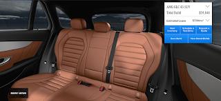 Nội thất Mercedes AMG GLC 43 4MATIC 2019 màu Nâu Saddle 234
