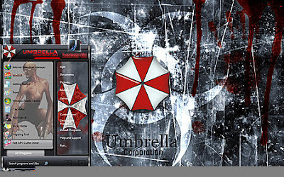 THEME WINDOWS 7 UMBRELLA CORP FULL GLASS