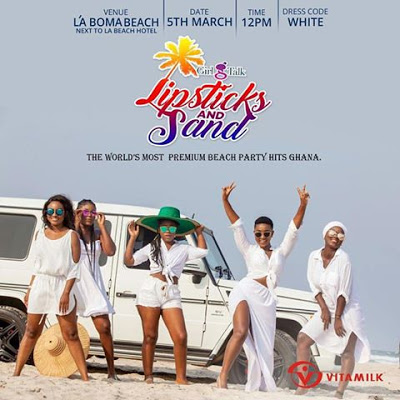 Girl Talk's Lipsticks and Sand Is On The 5th Of March 2017