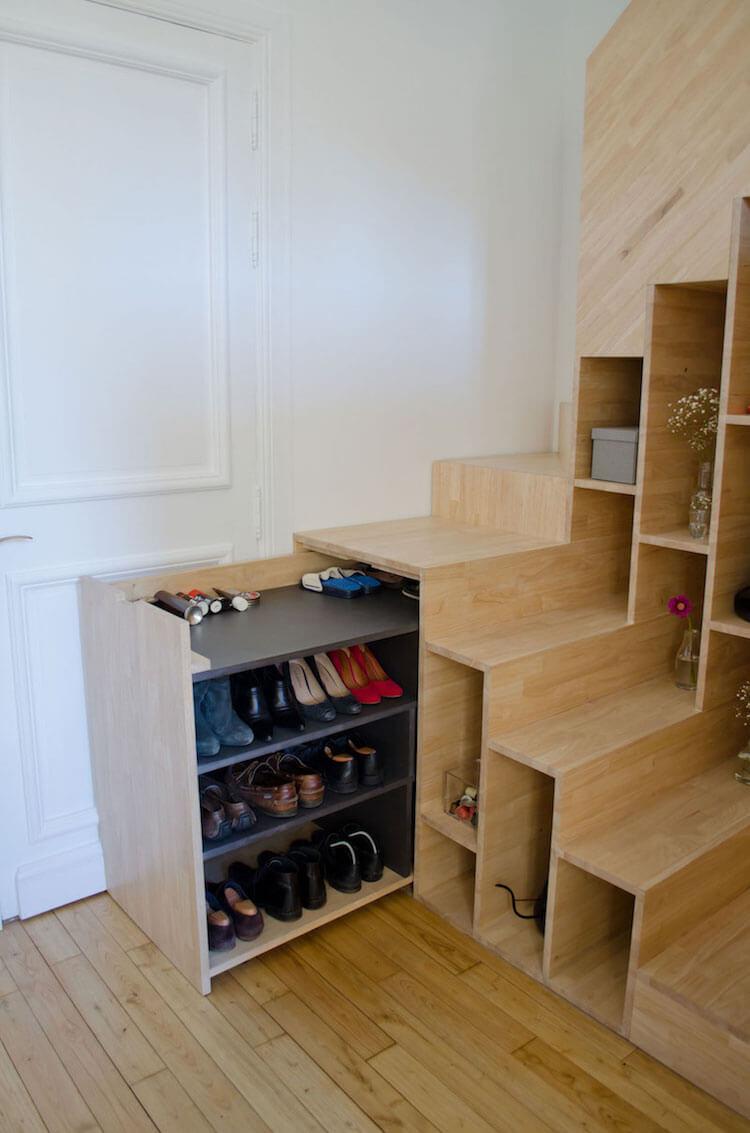 10 trucos para mantener la casa en orden. Orden zapatos