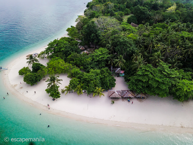 The White Beach in DIY Canigao Island