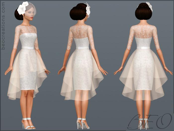 My Sims 3 Blog: Bridal Set By BEO
