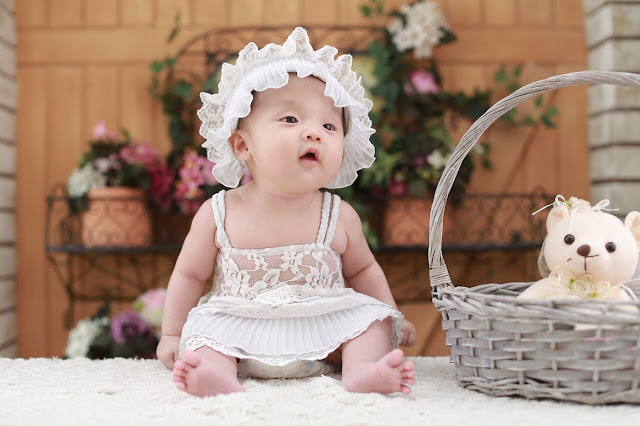bayi perempuan lucu dan cantik