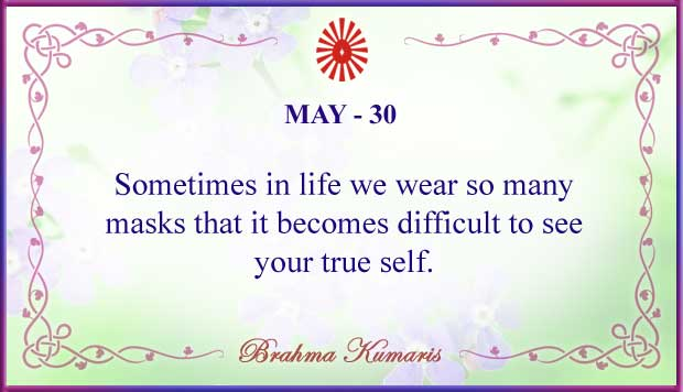 Thought For The Day May 30