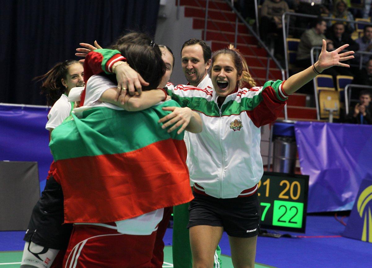BDMINTON Campeonato de Europa por equipos femenino 2016 Kazan