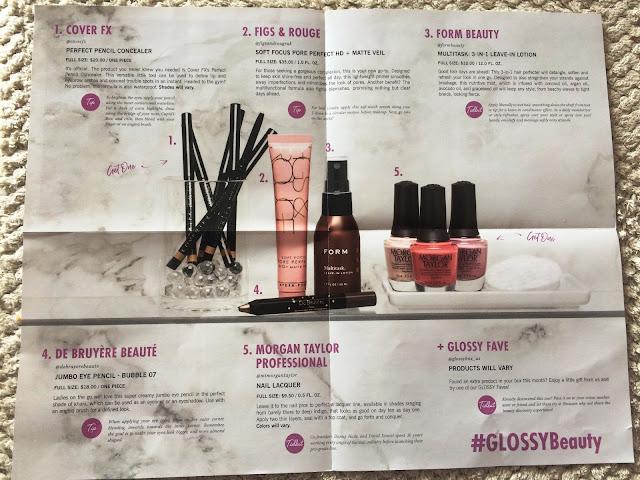 GlossyBox March Box 2018