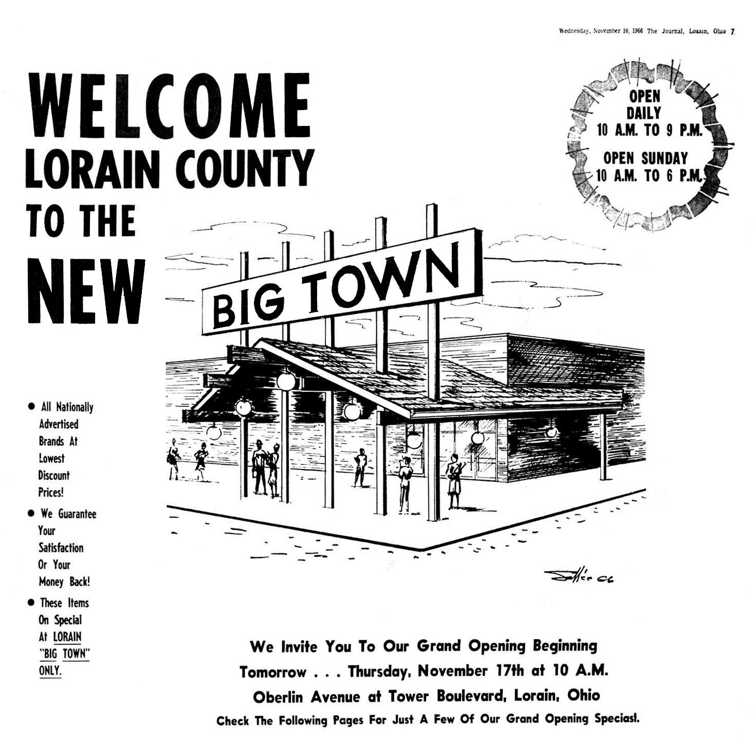 Brady S Bunch Of Lorain County Nostalgia Big Town And Big